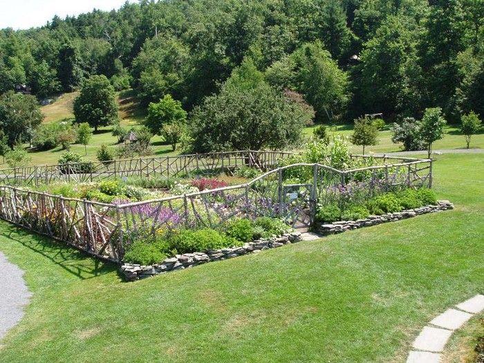 Garden Fencing Pinteres