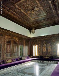 living room in the palace of beiteddine photo also an ottoman tale lebanon ottomani finestra  porte rh it pinterest