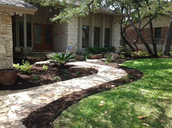 front entry flagstone