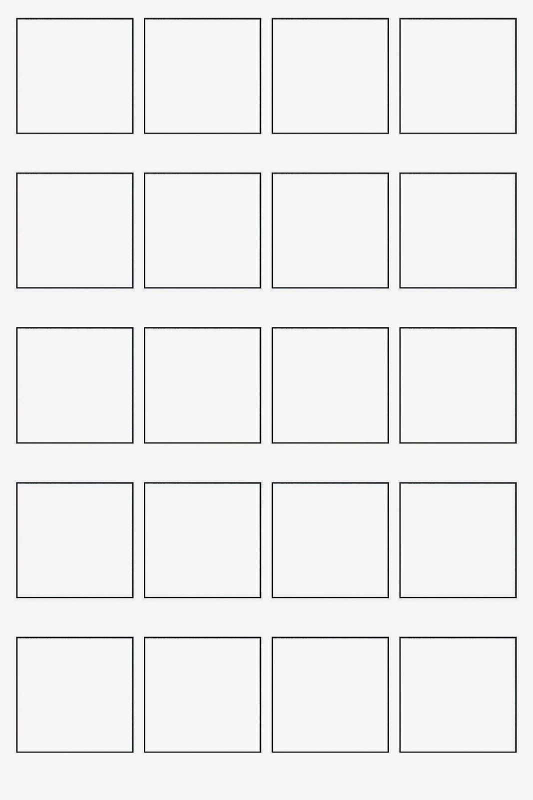 Blank Sheet For Pattern Collections