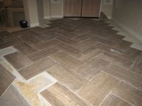 Walker Zanger Prado Travertine - herringbone pattern ...
