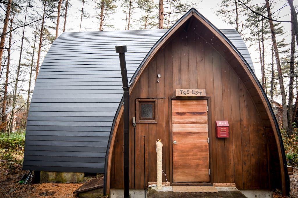 A Cosy Hut In Hakuba Misorano Area Bed Room Cottage Comes