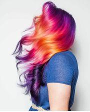 beauty fantasy unicorn purple