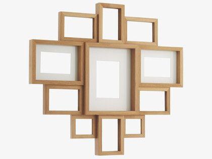 Large Wooden Multi Aperture Photo Frame | Frameswalls.org