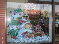 elf tanning window painting | Window Painting | Pinterest ...