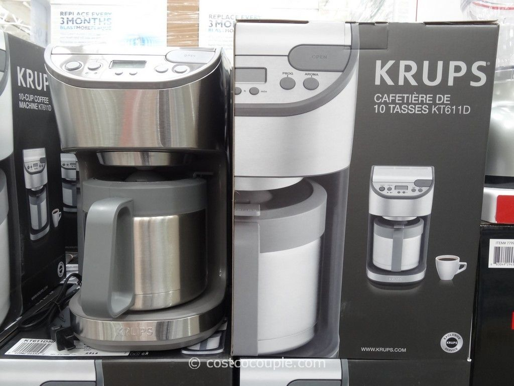 coffee makers costco exciting krups thermal