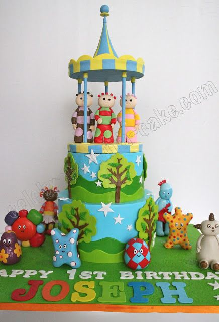 Celebrate With Cake! In The Night Garden Cake Party Ideas