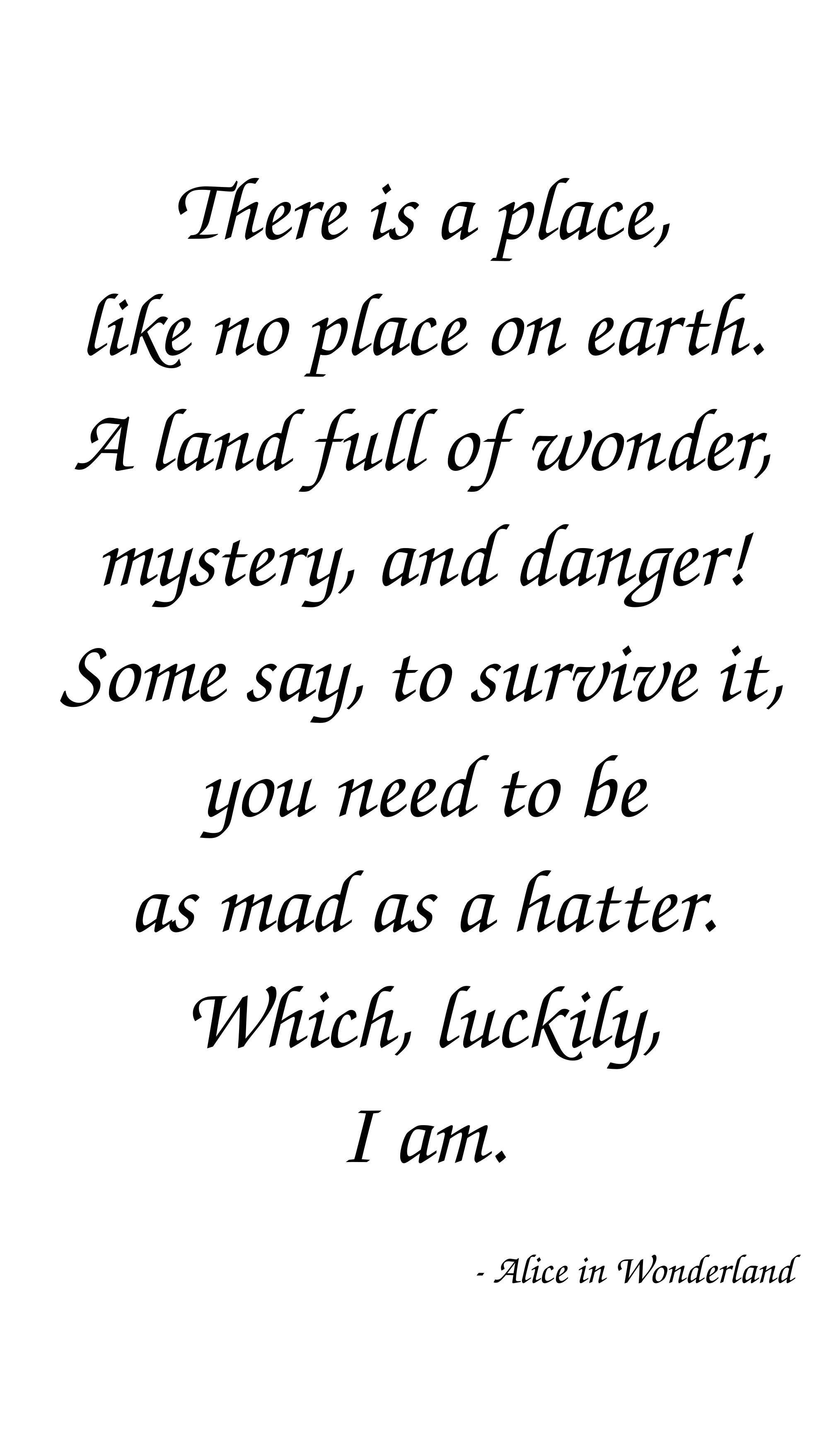 Mad Love Quotes Love Quotes With Authors Named Alice Picture