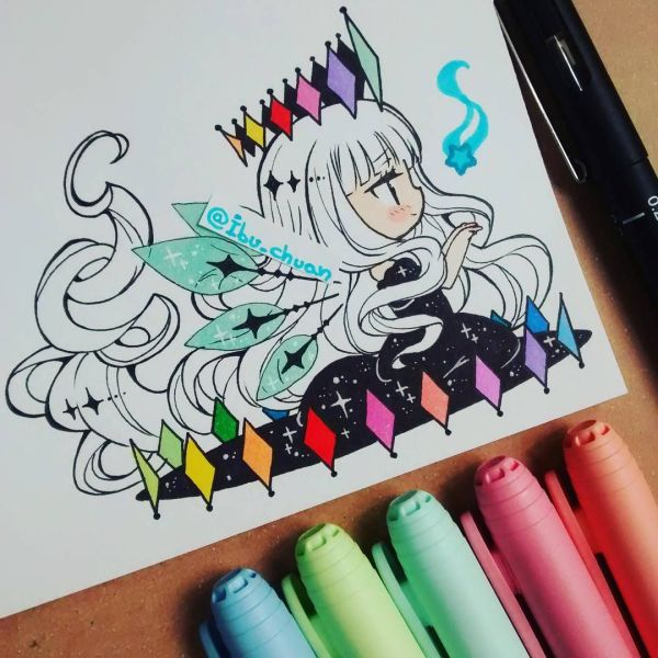 Awe Love Tattoo Outfit Ideas Chibi And Markers