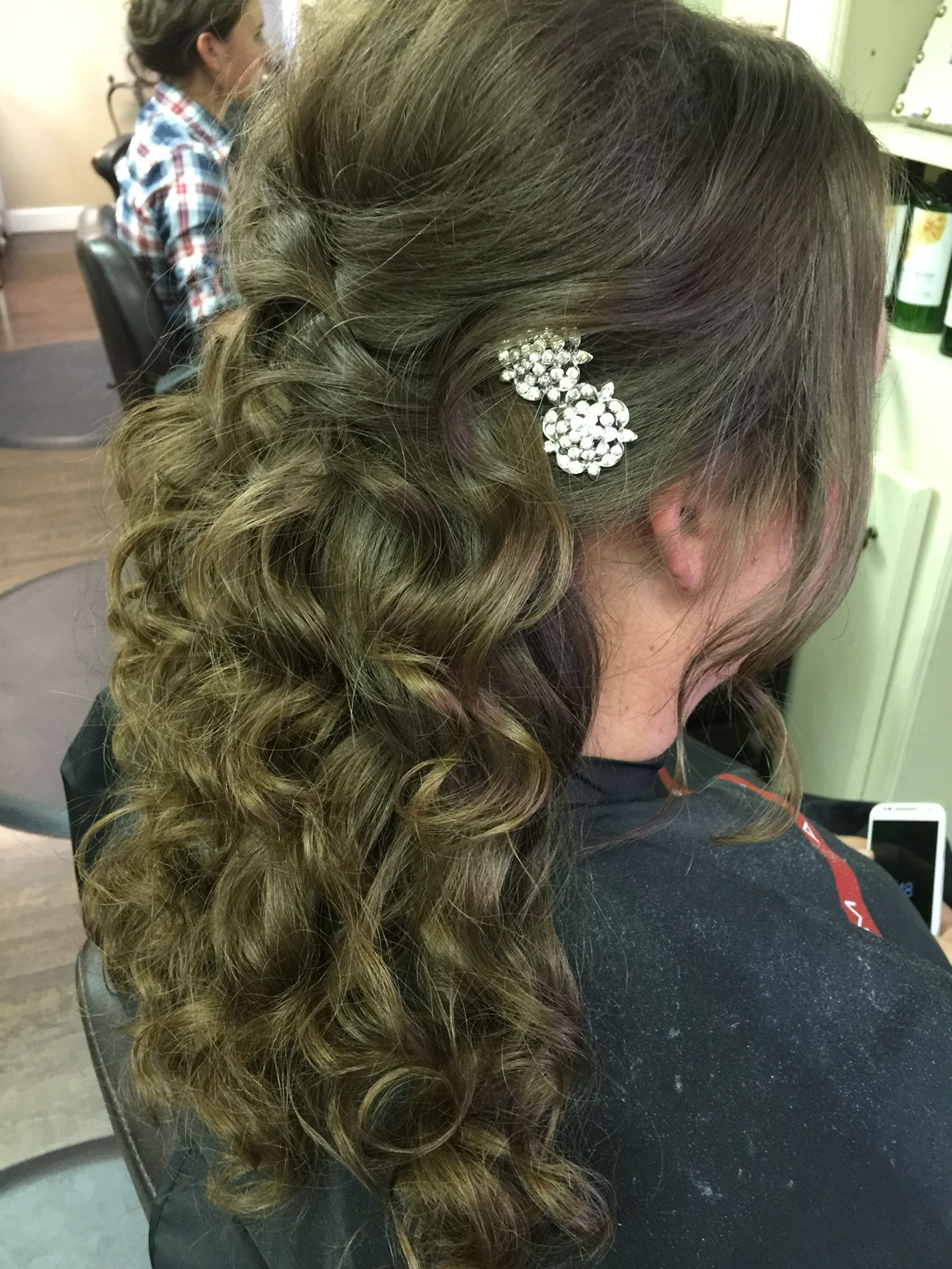 Bride hair Hair Janelle has done