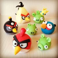 angry birds cake decorations | Yum! Cupcakes | Pinterest ...