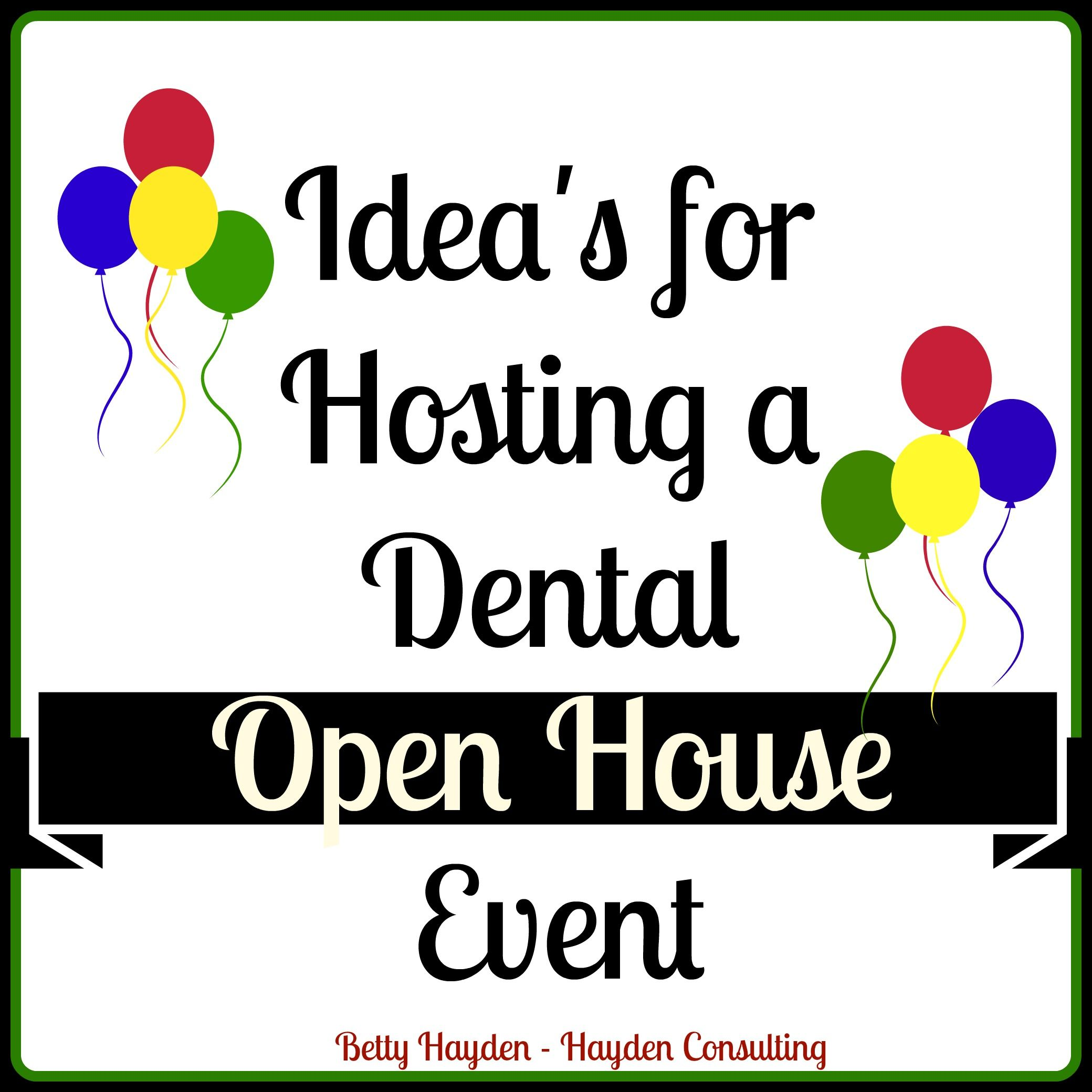 Dental Office Open House Event Ideas Event Themes Dental And