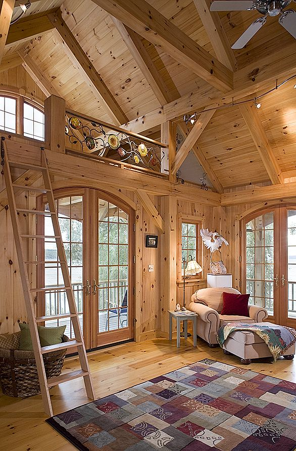 Interior Of Beach House Love The Timber Frame Look Http