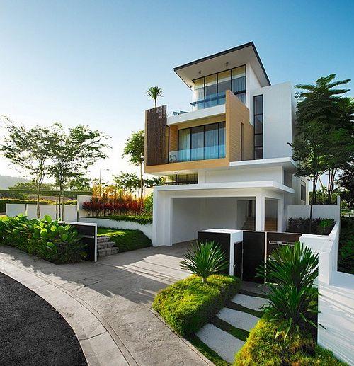 25 Modern Home Exteriors Design Ideas Design House Exterior