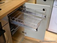pull out shelves baskets drawers | oak and french grey ...