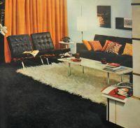 1960's interior design. www.roomsofart.com | Vintage ...