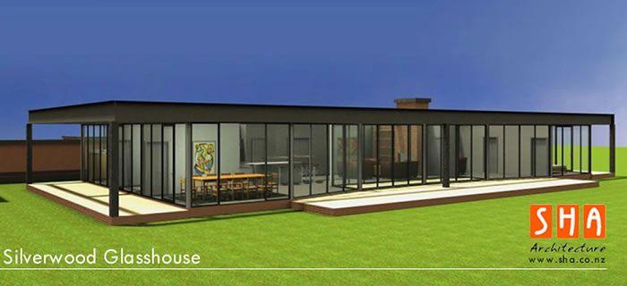 Pre Fabricated Plans Silverwood Glass House Modular Housing
