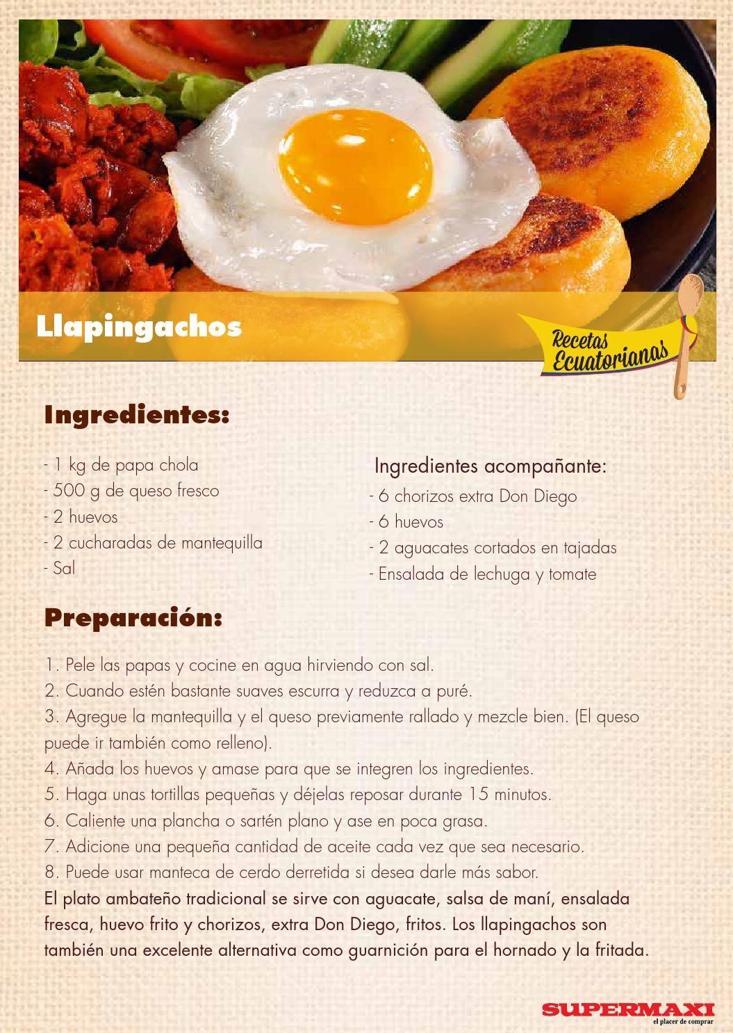 Recetas Ecuatorianas  Recetas ecuatorianas Recetas y Comida
