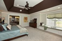 angled tray ceiling lighting bedroom - Google Search ...