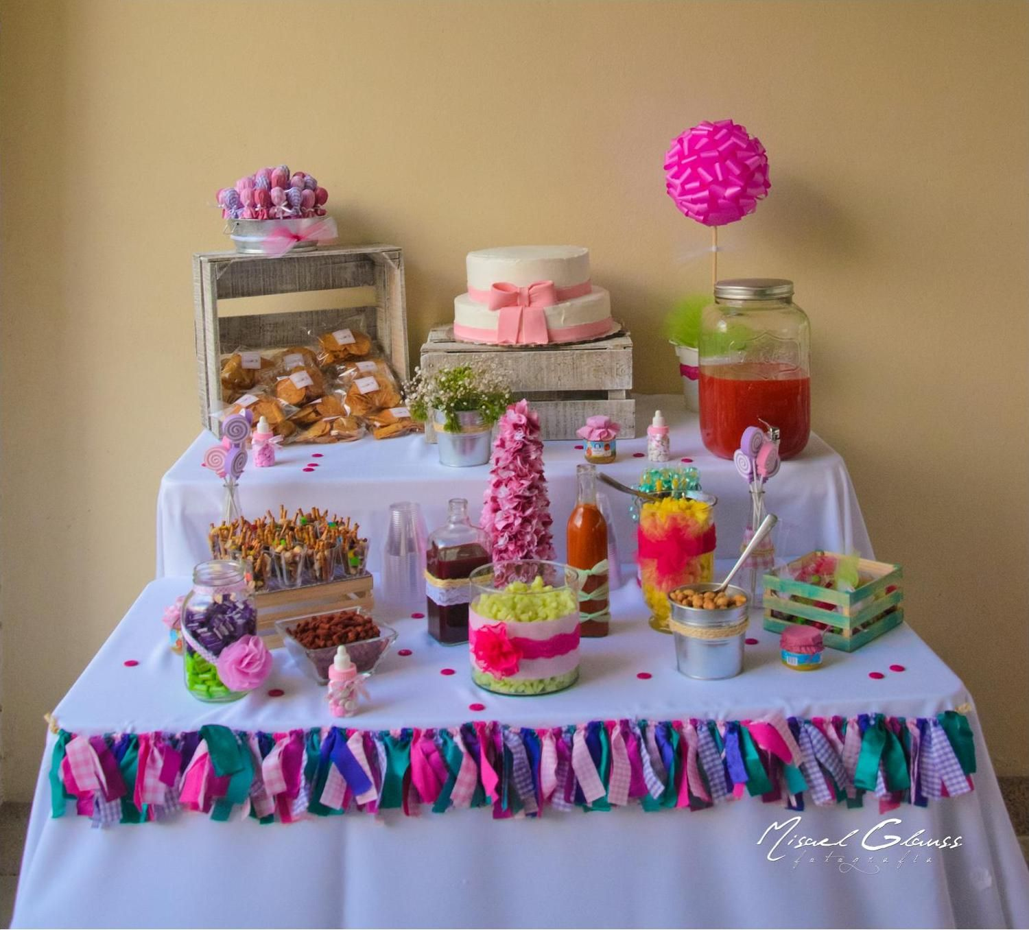 Mesa de Snacks  Baby Shower  Pinterest  Mesa de snack