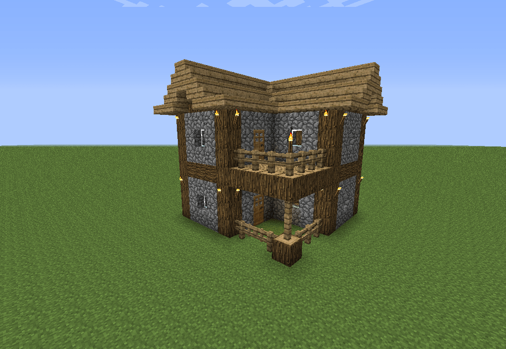 I Build This House Almost Every Time I Start A New Game In
