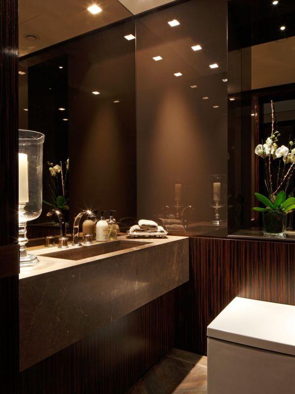 Faboulous Modern Contemporary Bathroom Design.marble Glass Stone Wood Grain. Kensington Place