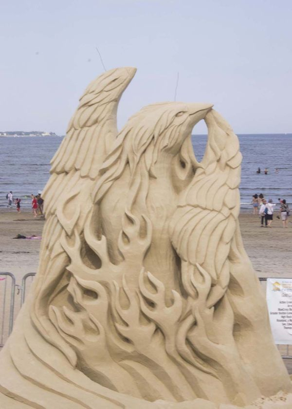 'boston Strong' 2013 National Sand