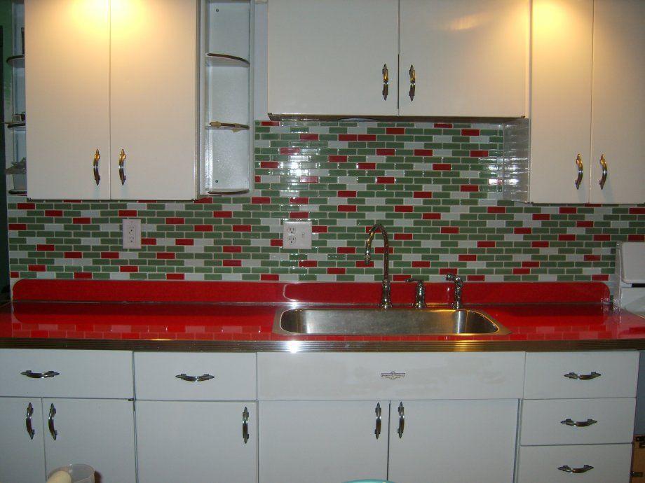 11 Red Kitchen Designs Metal Cabinetslaminate