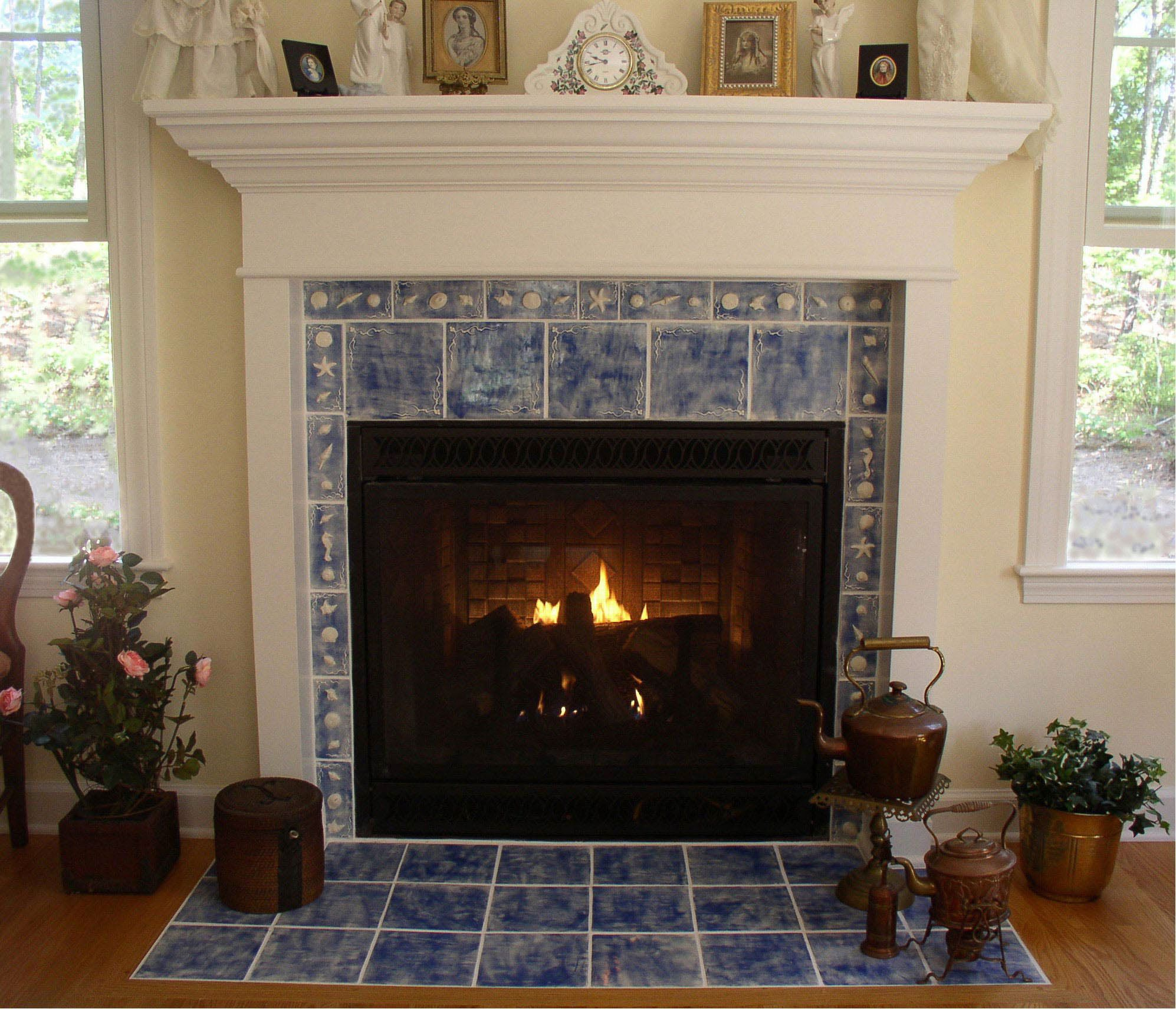 Image Of Fireplace Front Ideas Tile Fireplace Design Ideas How To