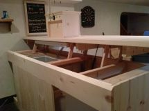 Coffin Keezer Bar Build