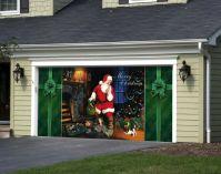 Amazing Christmas Decoration Garage Door Picture Ideas ...