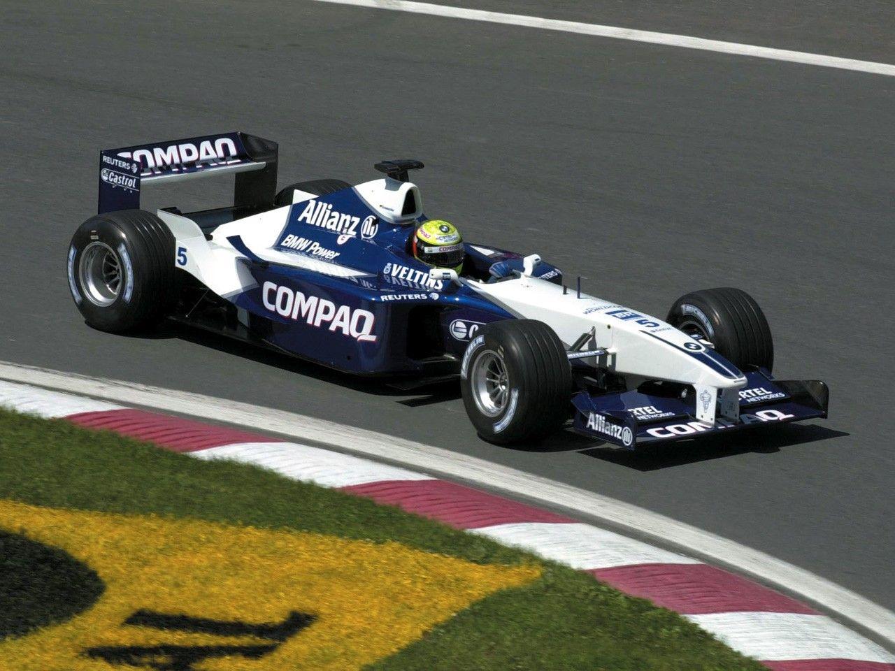 2001 Williams FW23  BMW Ralf Schumacher  2001 Formua