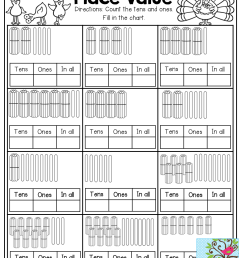 Ones And Tens Worksheets [ 1325 x 1024 Pixel ]