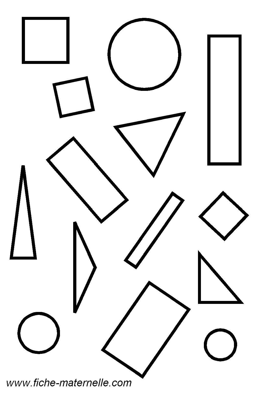 Geometrie En Maternelle Les Figures Geometriques