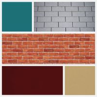 exterior house color red brick grey | ... red-brick ...