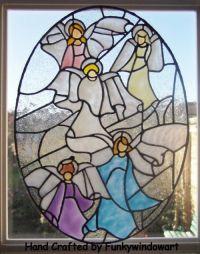 Christmas Angels Window Cling christmas angel window ...