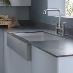 Single Sink Kitchen Round Table Set Kohler K 3942 4 Na Vault Top Mount Bowl