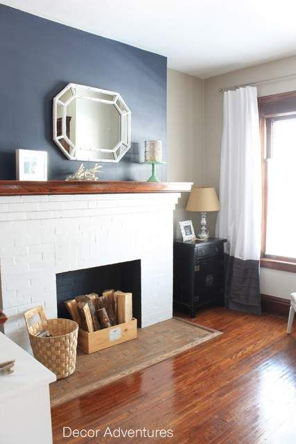 Fireplace Accent Walls on Pinterest
