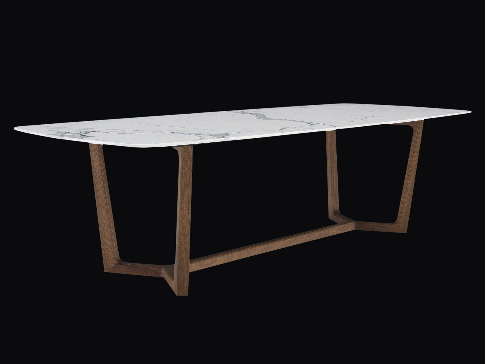 Table rectangulaire en marbre CONCORDE Collection Concorde