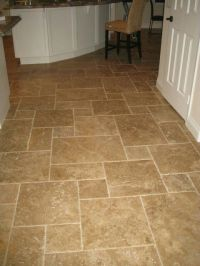 Travertine flooring | Kitchen | Pinterest | Travertine ...