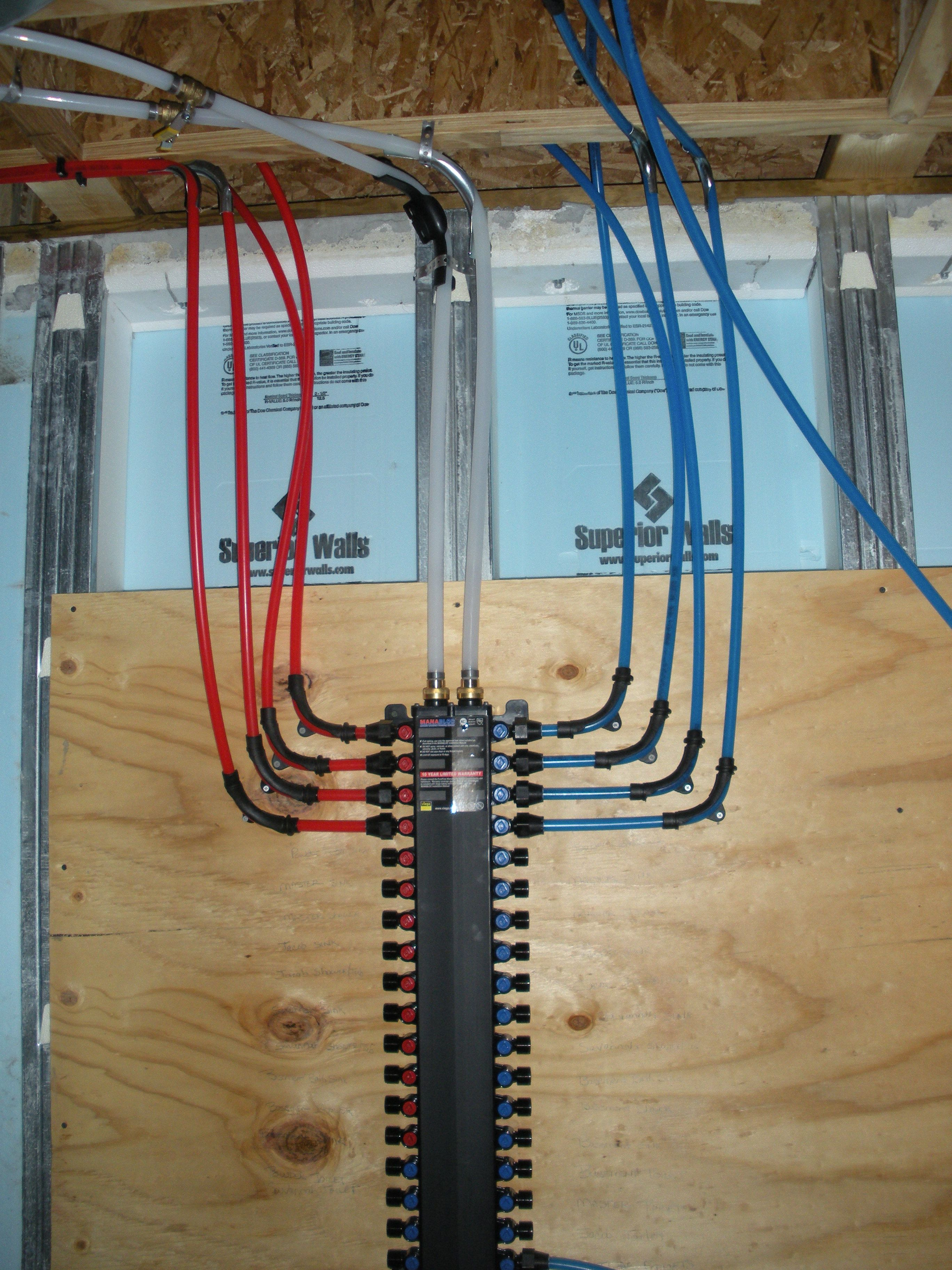 plumbing manifold diagram wiring for electric motor with capacitor best pex google search