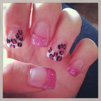 Cheetah print acrylic nails | Nails | Pinterest | Acrylics ...