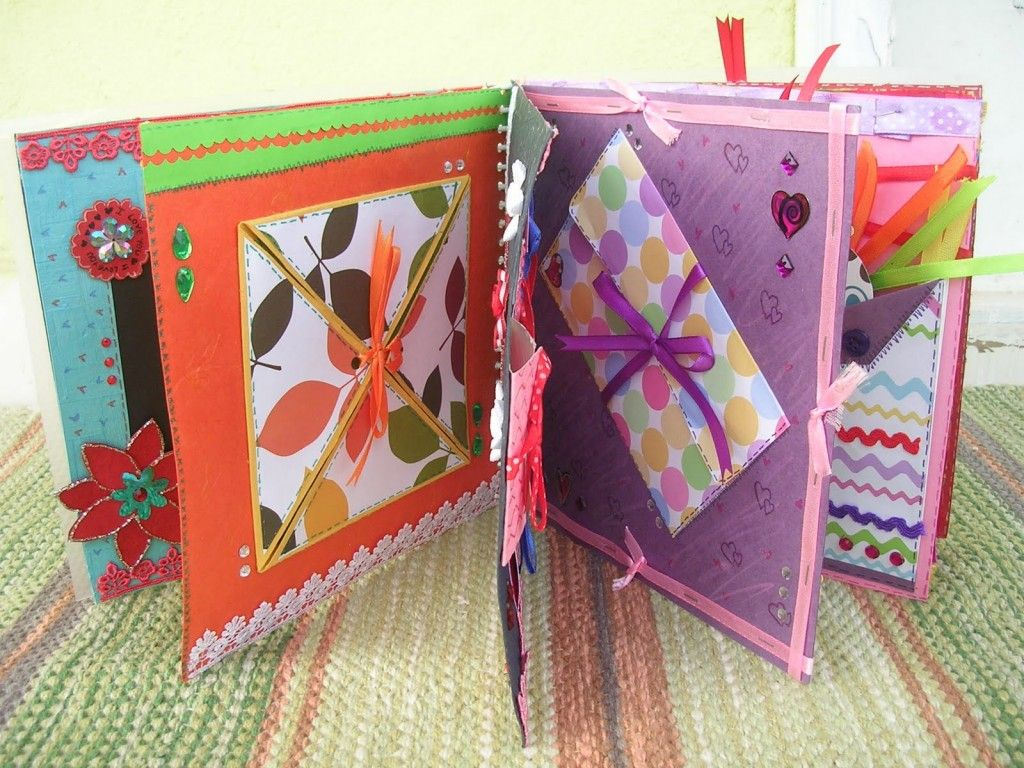 Photo Album Homemade Birthday Gifts For Mom