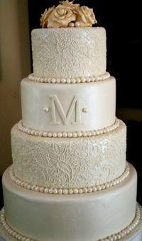Simple But Elegant Wedding Cakes   Elegant Wedding Cake ...
