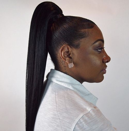 Fly Ponytail Because Sometimes Simplicity Speaks Volumes Black