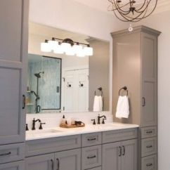 Home Depot Undermount Kitchen Sink Stand Alone Island Grey Master Vanity With Two Towers, Sinks ...
