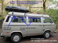 VW Vanagon Westfalia roof racks www.vwrack.com | The Kombi ...