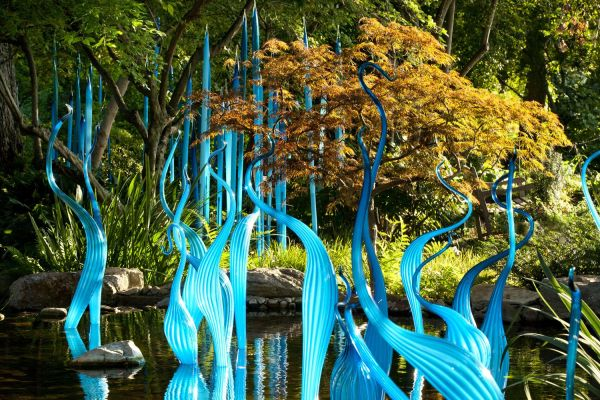 Chihuly Garden And Glass Opening Exhibit