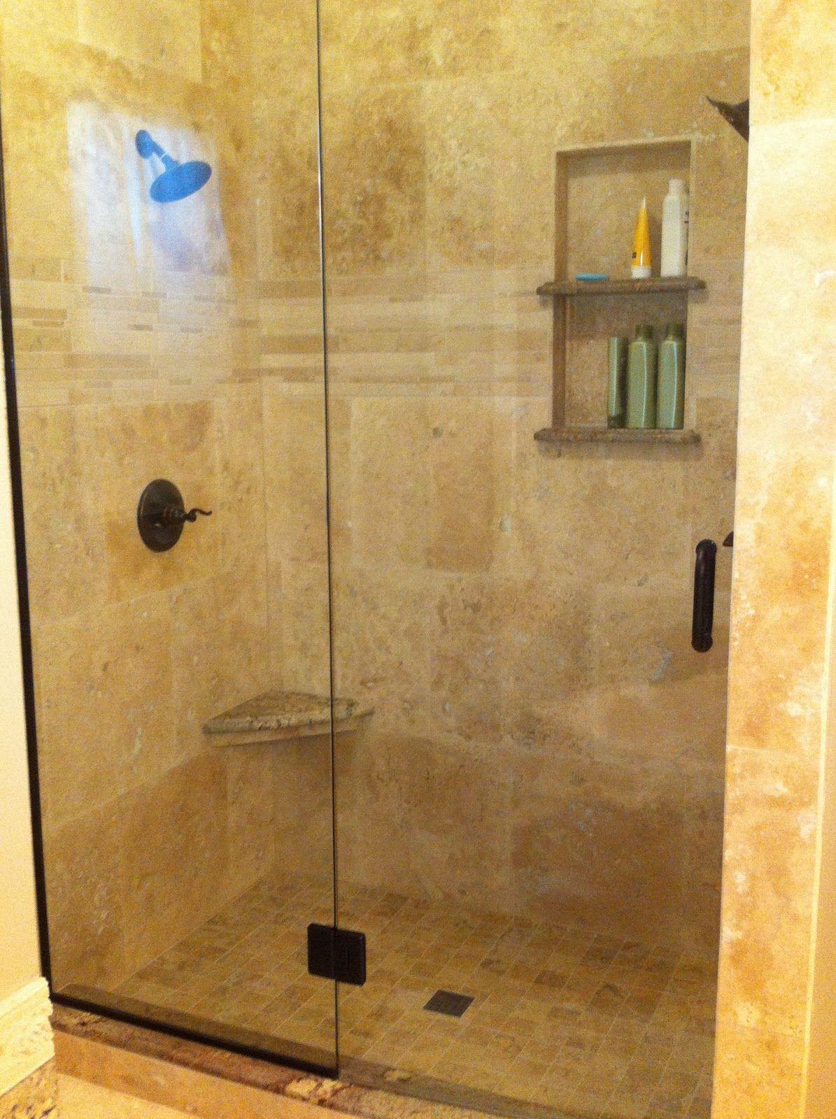 Travertine Shower Ideas