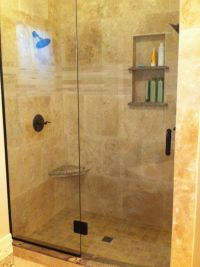 Travertine Shower Ideas